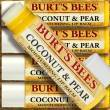 Burt's Bees Lip Balm Stick COCONUT & PEAR, Lippenpflegestift, 4,25 g