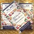 Klar Festes Shampoo WEIHNACHTSMANDARINE, 100 g